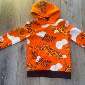 Boys' 'Tiger King' hoodie, size 6 (medium)
